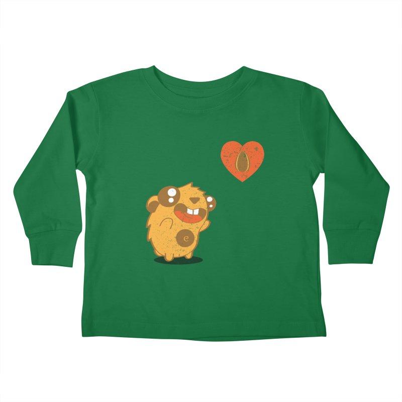 You Gotta Love Seeds Kids Toddler Longsleeve T-Shirt by pepemaracas's Artist Shop
