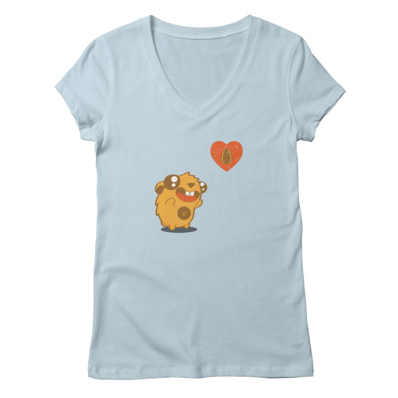 You Gotta Love Seeds Women's V-Neck by pepemaracas's Artist Shop