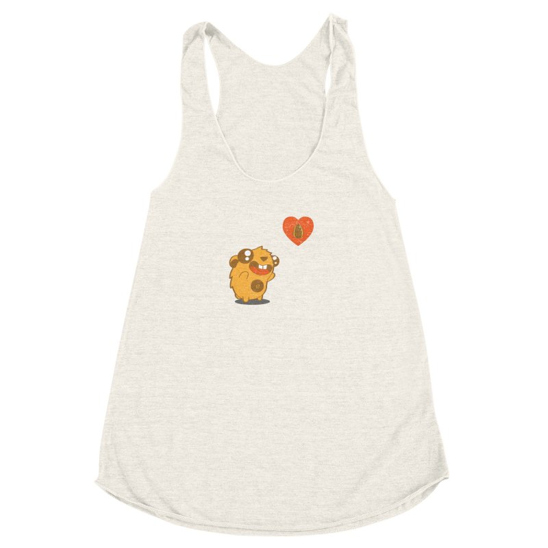 You Gotta Love Seeds Women's Racerback Triblend Tank by pepemaracas's Artist Shop