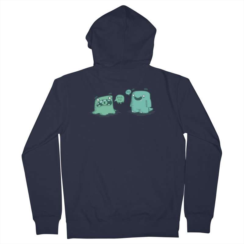 Monday Women's Zip-Up Hoody by pepemaracas's Artist Shop