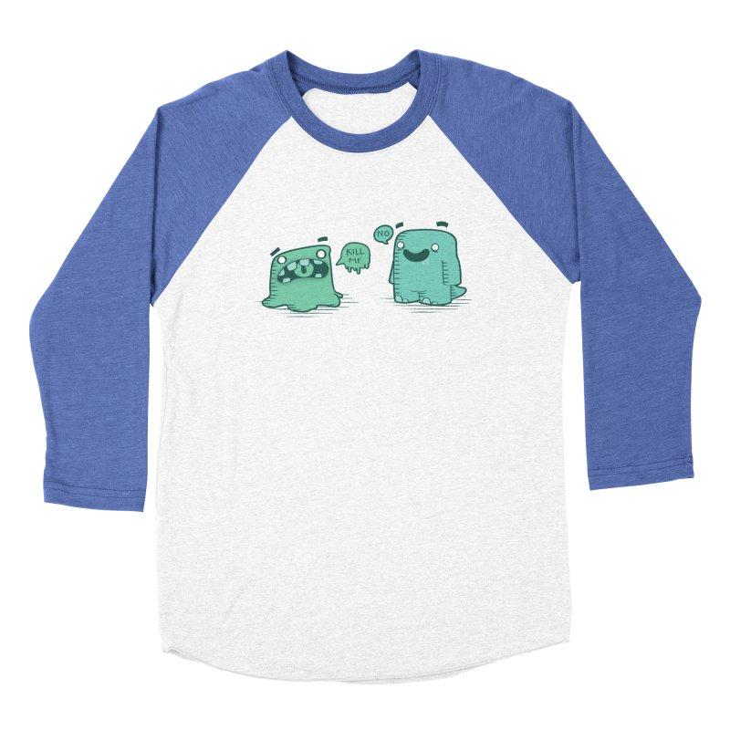 Monday Women's Baseball Triblend T-Shirt by pepemaracas's Artist Shop