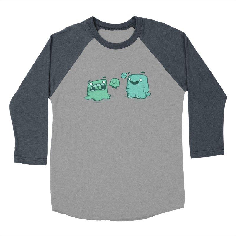Monday Men's Baseball Triblend T-Shirt by pepemaracas's Artist Shop