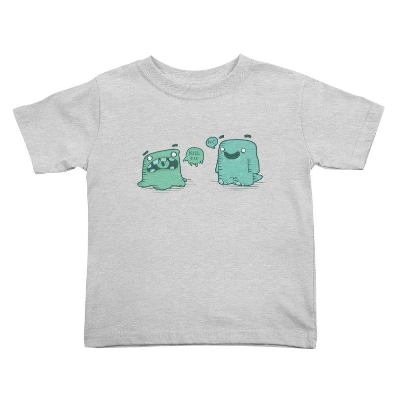 Monday Kids Toddler T-Shirt by pepemaracas's Artist Shop