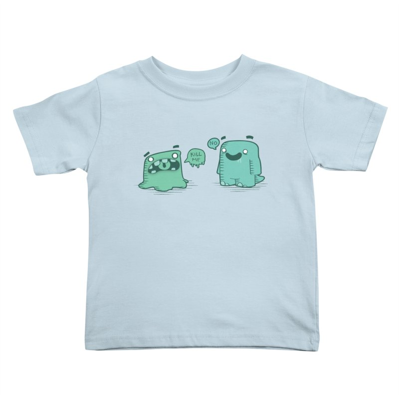 Monday Kids Toddler T-Shirt by pepemaracas's Artist Shop