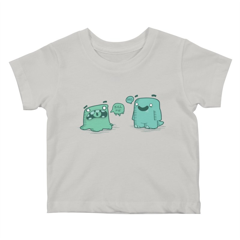 Monday Kids Baby T-Shirt by pepemaracas's Artist Shop