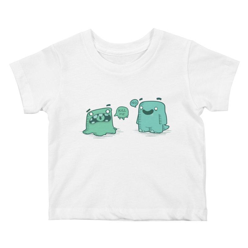 Monday Kids Baby T-Shirt by pepemaracas's Artist Shop
