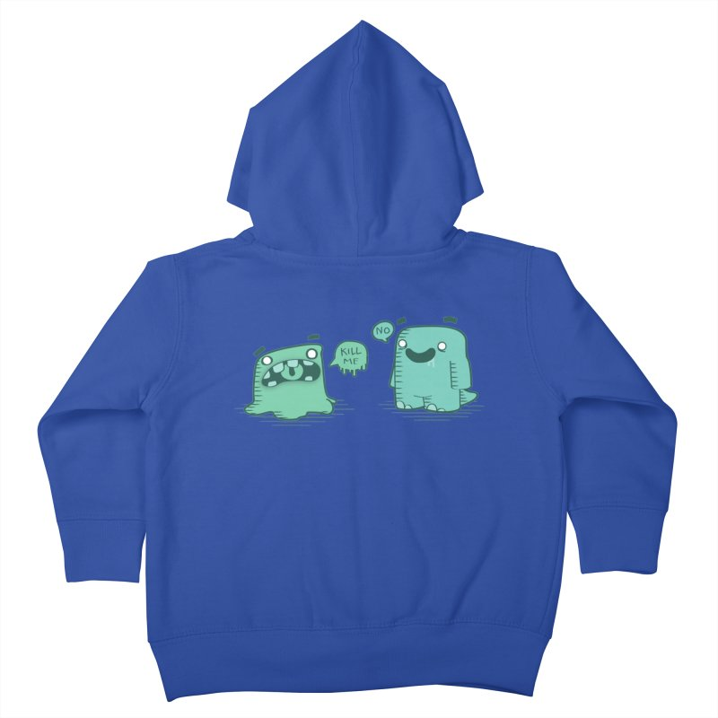 Monday Kids Toddler Zip-Up Hoody by pepemaracas's Artist Shop