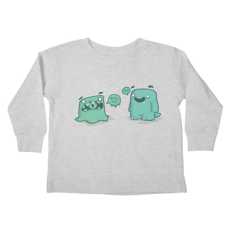Monday Kids Toddler Longsleeve T-Shirt by pepemaracas's Artist Shop
