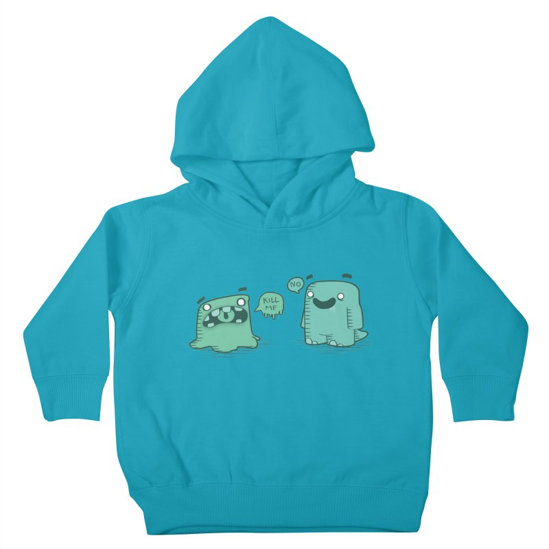 Monday Kids Toddler Pullover Hoody by pepemaracas's Artist Shop
