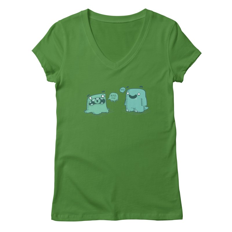 Monday Women's V-Neck by pepemaracas's Artist Shop