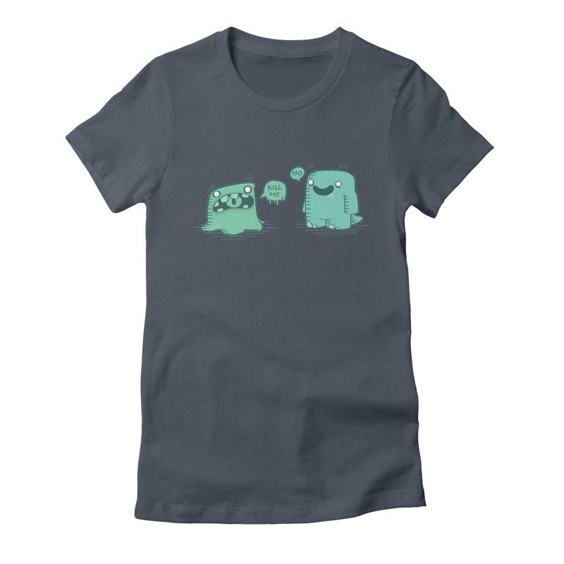 Monday Women's Fitted T-Shirt by pepemaracas's Artist Shop