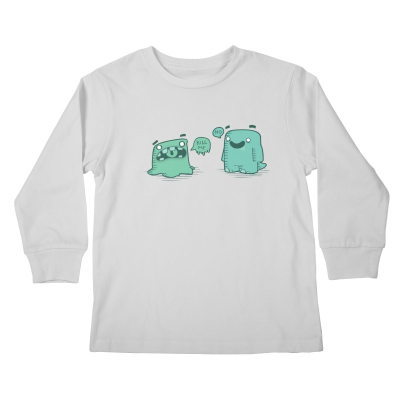 Monday Kids Longsleeve T-Shirt by pepemaracas's Artist Shop