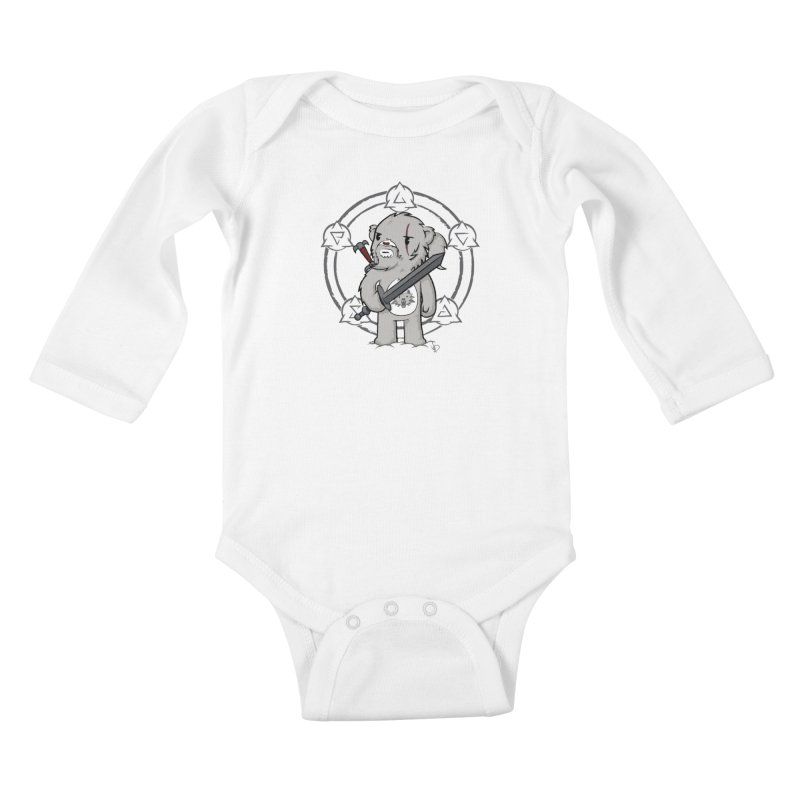 Bearalt of Rivia Kids Baby Longsleeve Bodysuit by pepemaracas's Artist Shop