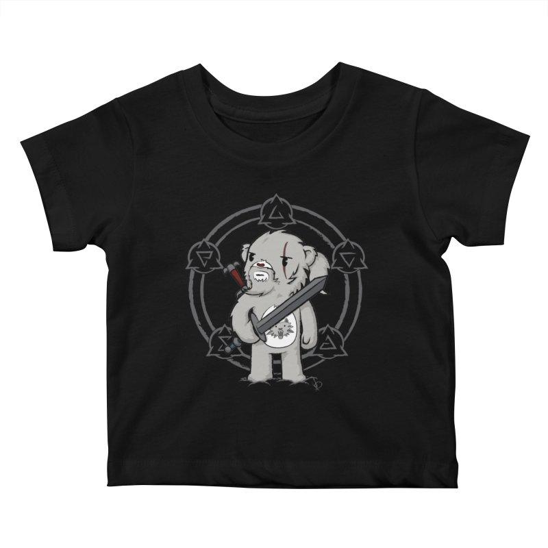 Bearalt of Rivia Kids Baby T-Shirt by pepemaracas's Artist Shop