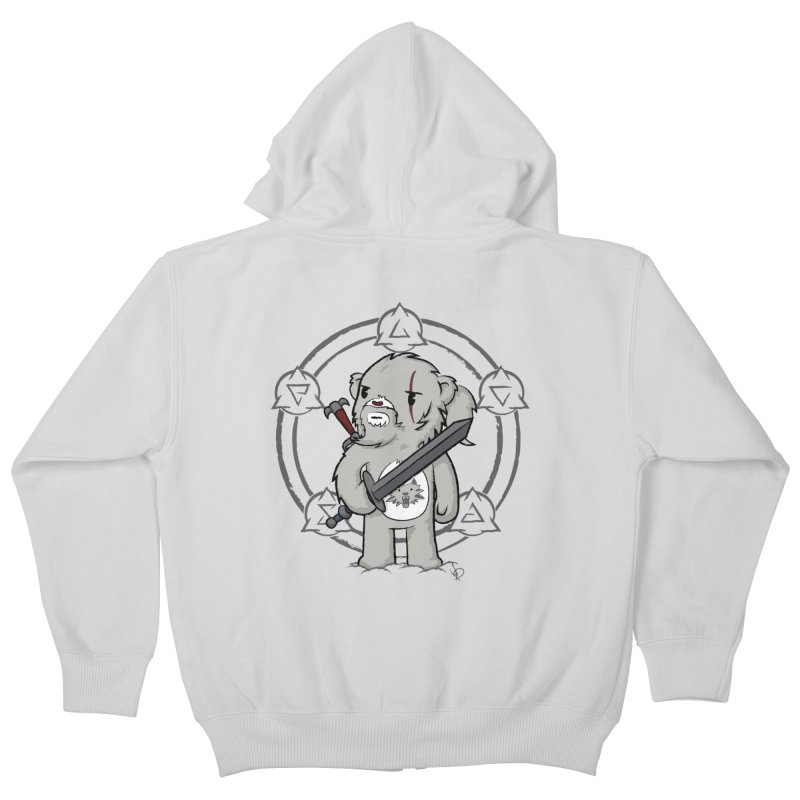 Bearalt of Rivia Kids Zip-Up Hoody by pepemaracas's Artist Shop