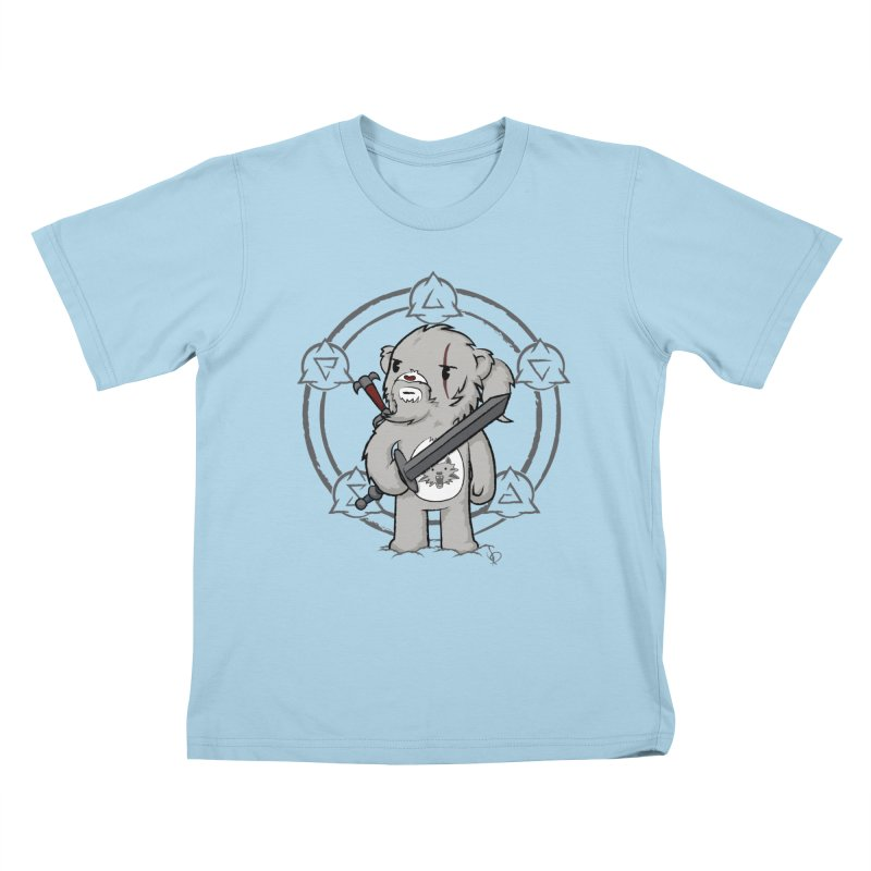 Bearalt of Rivia Kids T-Shirt by pepemaracas's Artist Shop