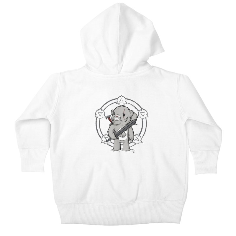 Bearalt of Rivia Kids Baby Zip-Up Hoody by pepemaracas's Artist Shop