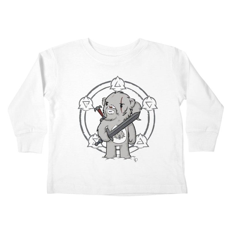 Bearalt of Rivia Kids Toddler Longsleeve T-Shirt by pepemaracas's Artist Shop