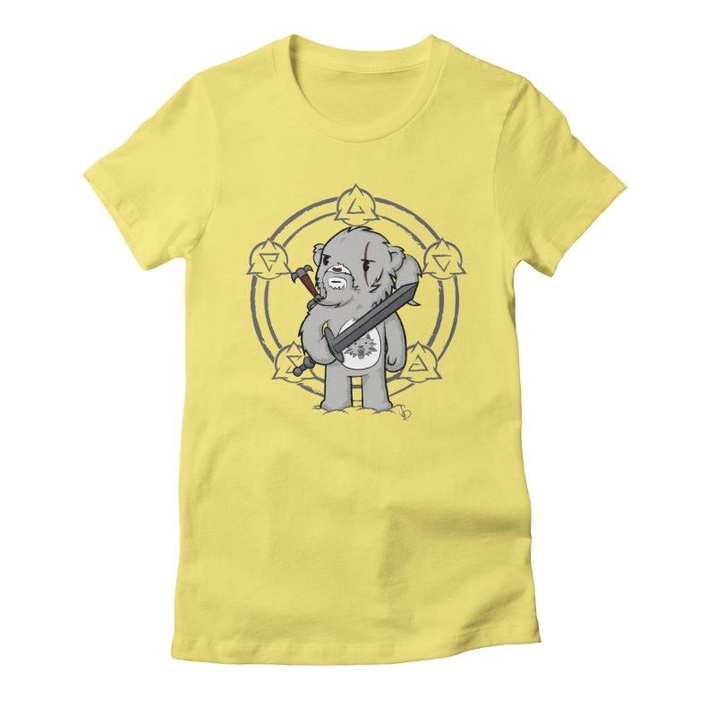 Bearalt of Rivia Women's Fitted T-Shirt by pepemaracas's Artist Shop