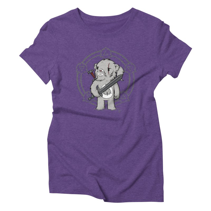 Bearalt of Rivia Women's Triblend T-Shirt by pepemaracas's Artist Shop