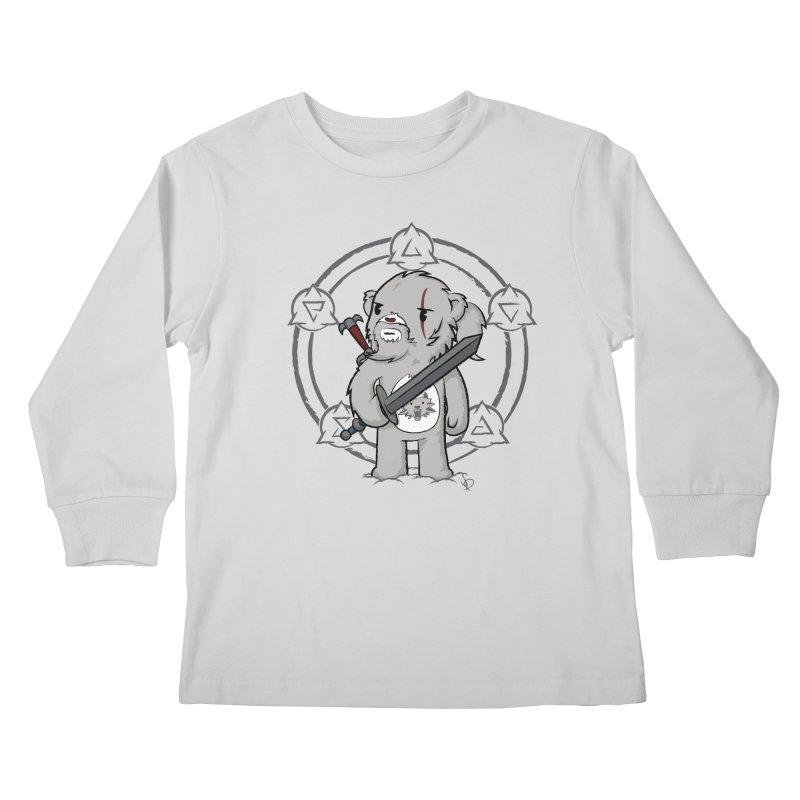 Bearalt of Rivia Kids Longsleeve T-Shirt by pepemaracas's Artist Shop