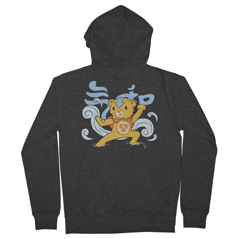 The Last Carebender Men's Zip-Up Hoody by pepemaracas's Artist Shop