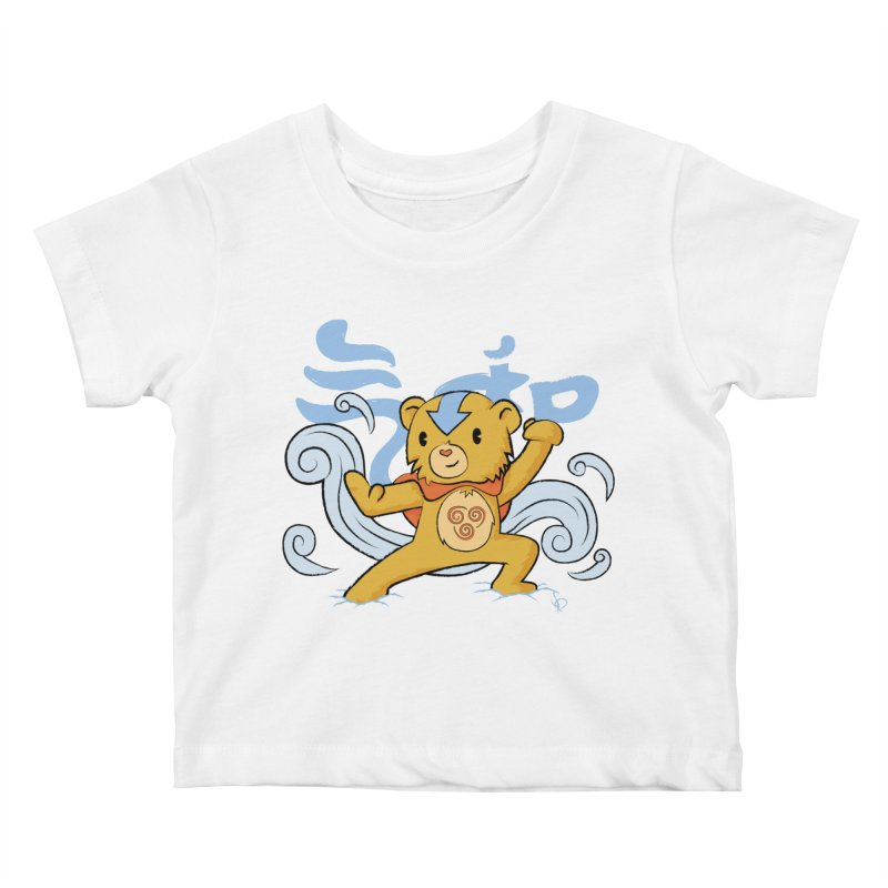 The Last Carebender Kids Baby T-Shirt by pepemaracas's Artist Shop