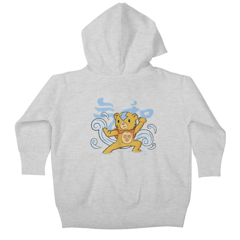 The Last Carebender Kids Baby Zip-Up Hoody by pepemaracas's Artist Shop