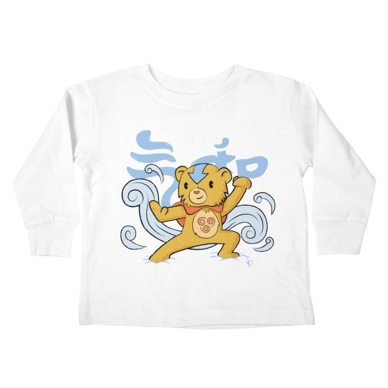 The Last Carebender Kids Toddler Longsleeve T-Shirt by pepemaracas's Artist Shop