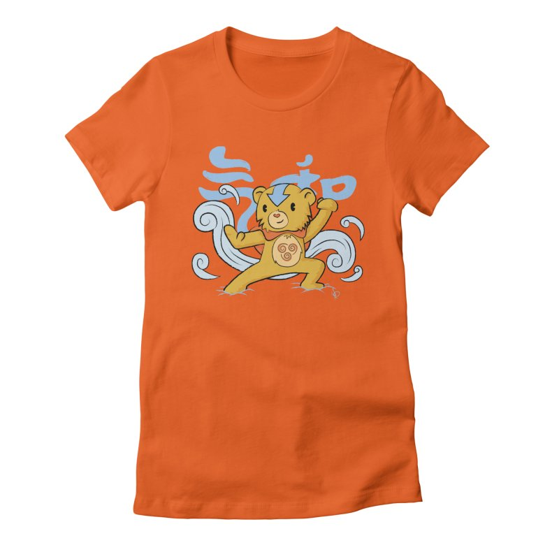 The Last Carebender Women's Fitted T-Shirt by pepemaracas's Artist Shop