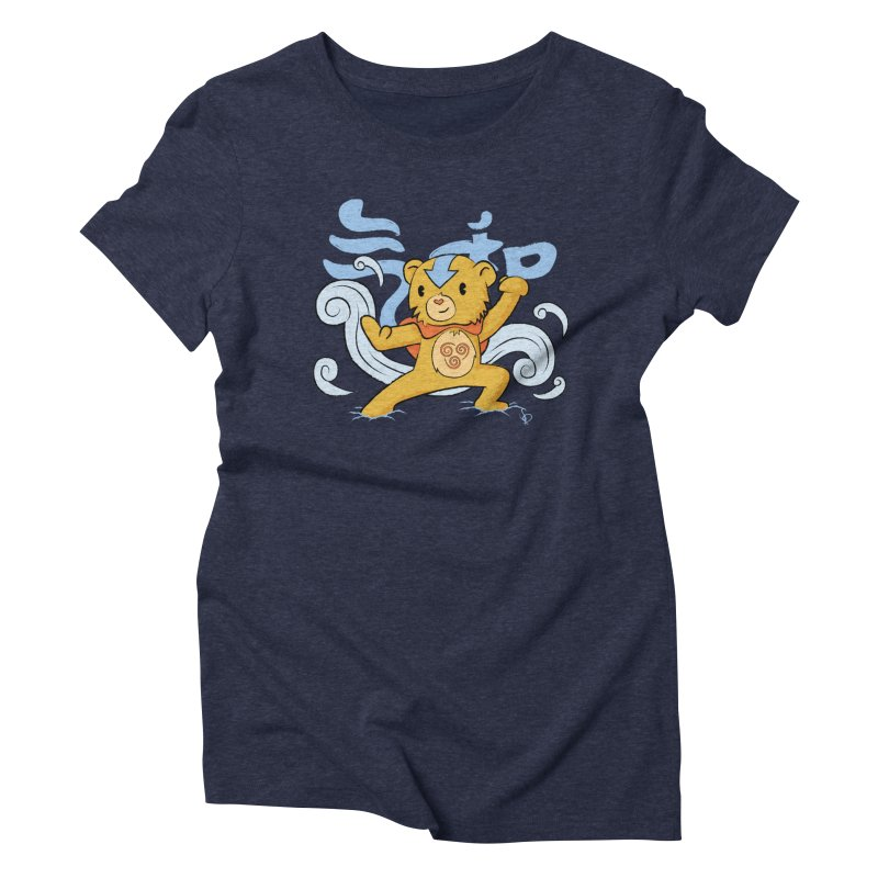 The Last Carebender Women's Triblend T-Shirt by pepemaracas's Artist Shop