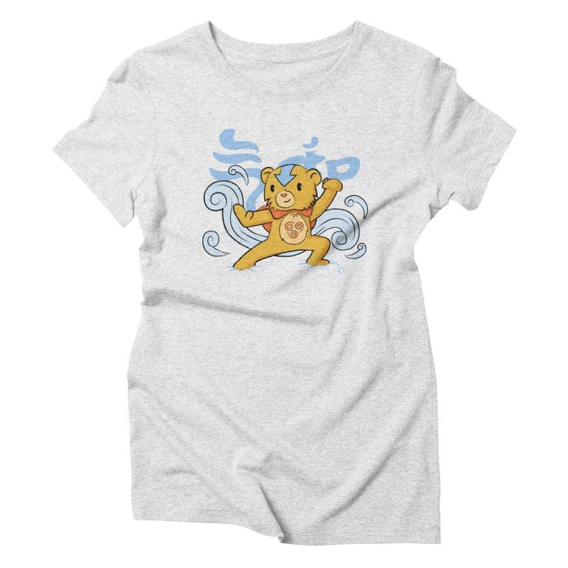 The Last Carebender Women's Triblend T-shirt by pepemaracas's Artist Shop
