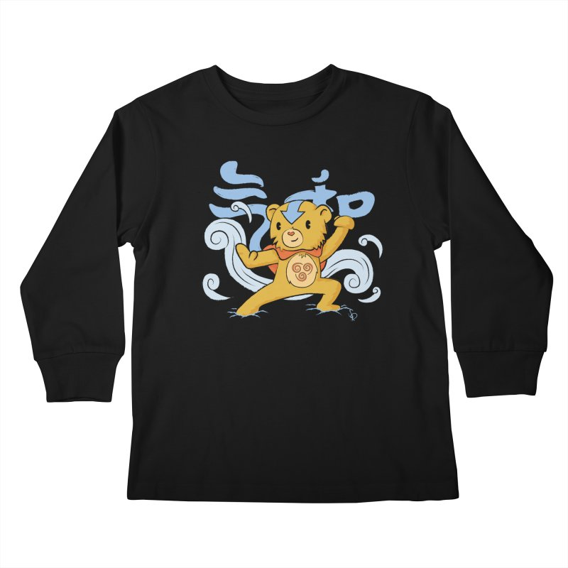 The Last Carebender Kids Longsleeve T-Shirt by pepemaracas's Artist Shop