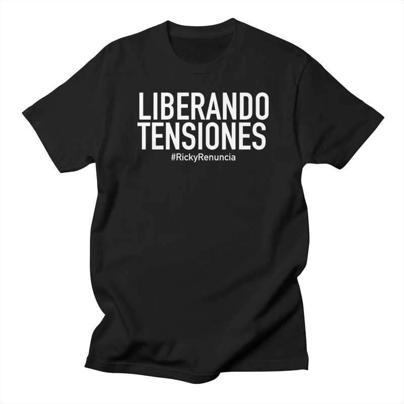 Liberando Tensiones Men's Regular T-Shirt by La Tiendita Pepito