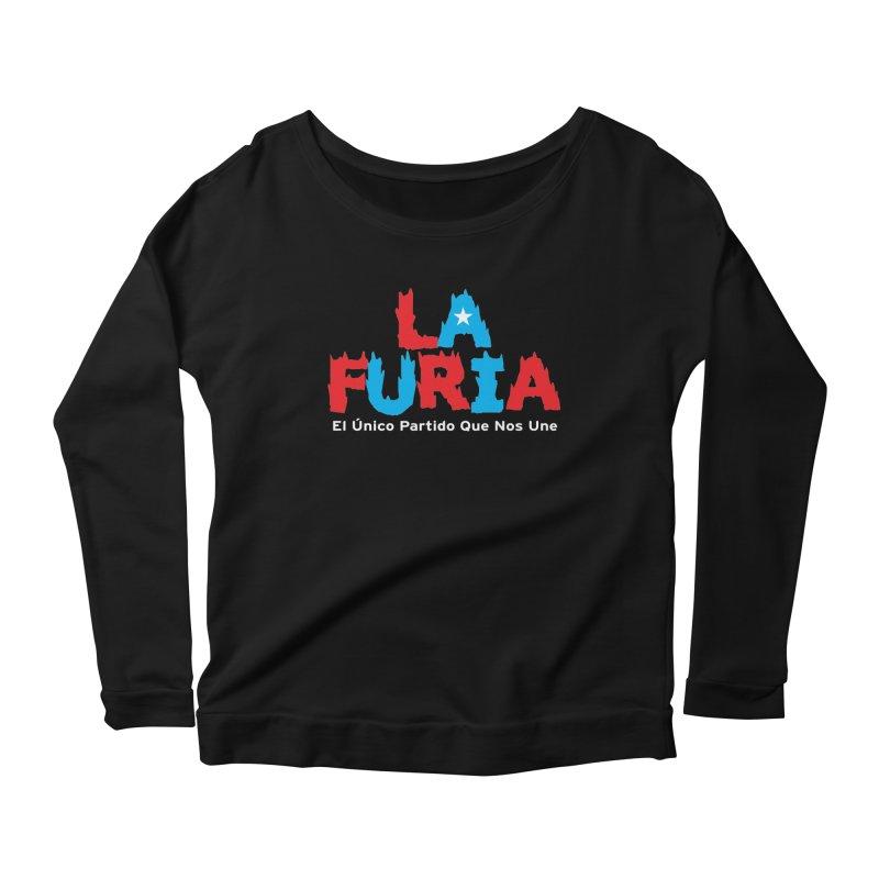 Furia Women's Scoop Neck Longsleeve T-Shirt by La Tiendita Pepito