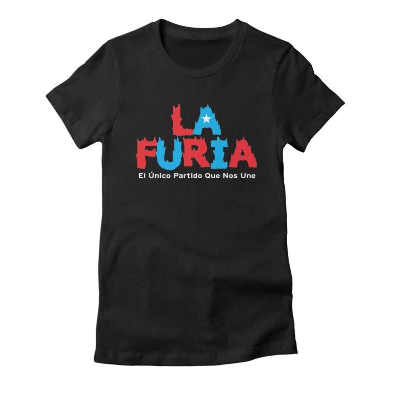 Furia Women's Fitted T-Shirt by La Tiendita Pepito