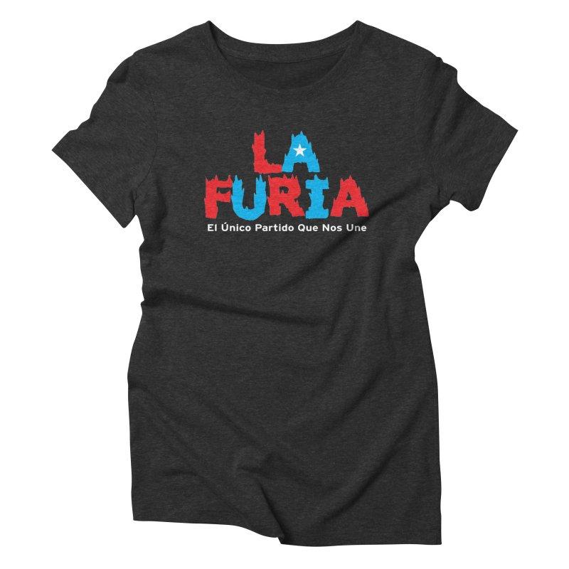 Furia Women's Triblend T-Shirt by La Tiendita Pepito
