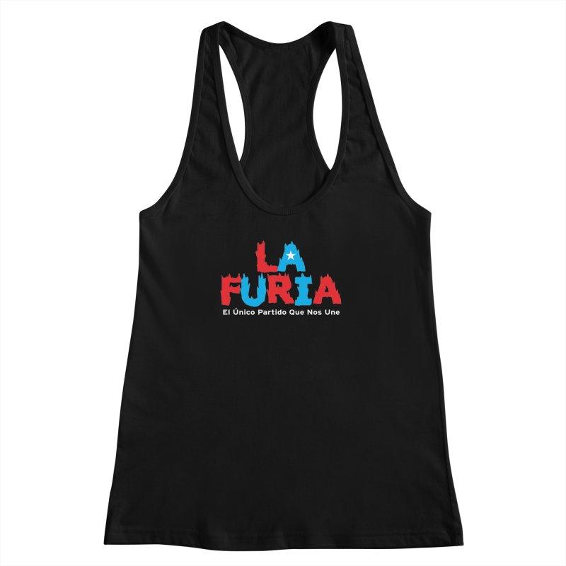 Furia Women's Racerback Tank by La Tiendita Pepito