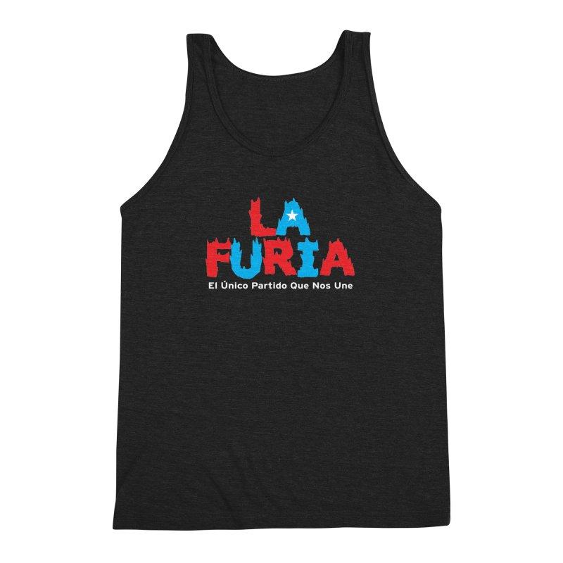 Furia Men's Triblend Tank by La Tiendita Pepito