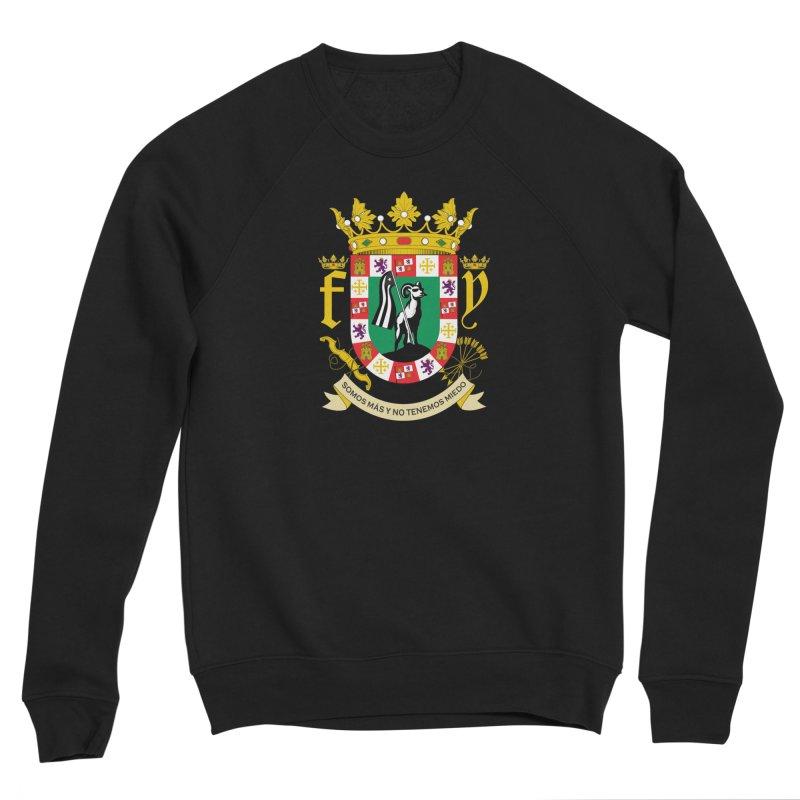 Escudo Men's Sponge Fleece Sweatshirt by La Tiendita Pepito