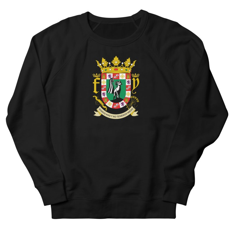 Escudo Women's French Terry Sweatshirt by La Tiendita Pepito
