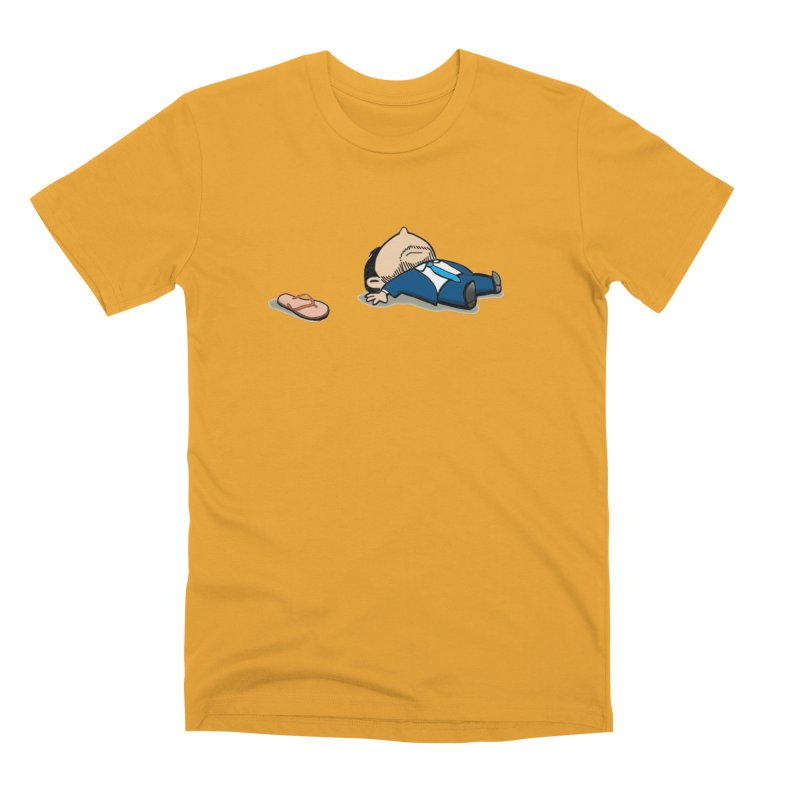 ChanclaRicky Men's Premium T-Shirt by La Tiendita Pepito