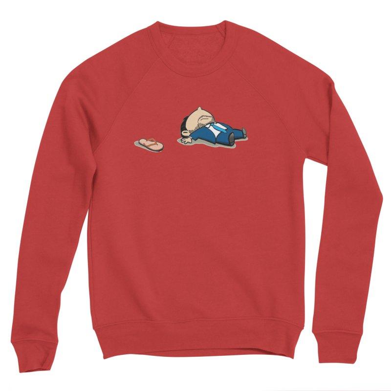 ChanclaRicky Men's Sponge Fleece Sweatshirt by La Tiendita Pepito