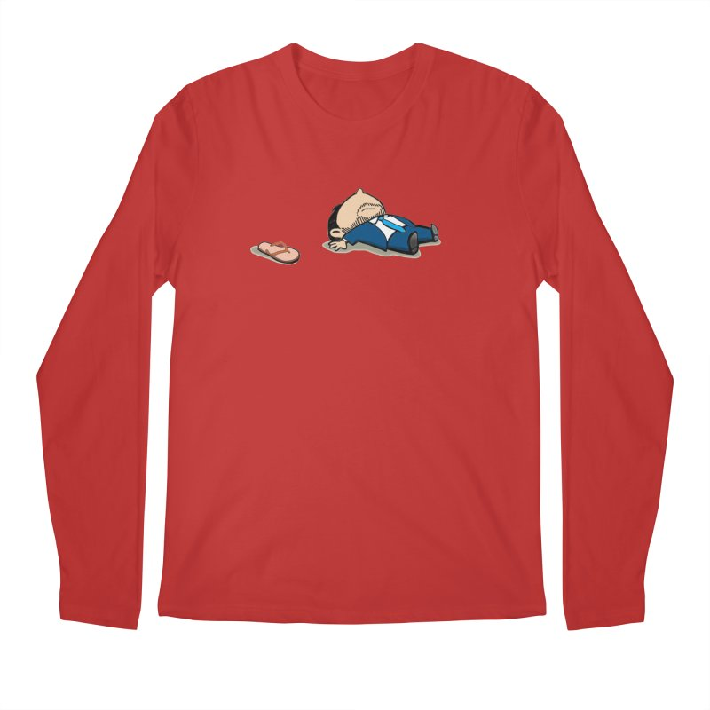 ChanclaRicky Men's Regular Longsleeve T-Shirt by La Tiendita Pepito