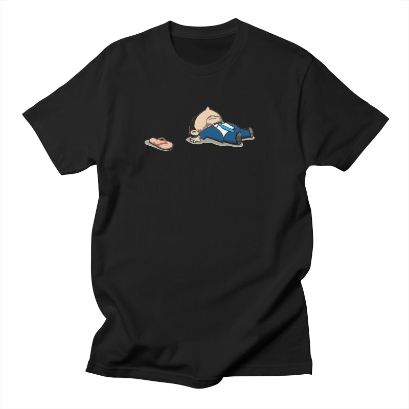 ChanclaRicky Men's Regular T-Shirt by La Tiendita Pepito