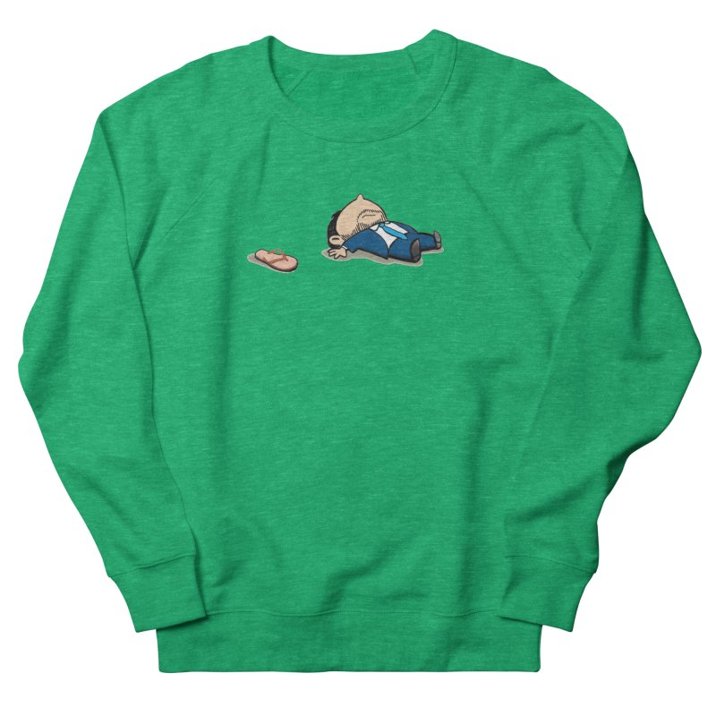 ChanclaRicky Men's French Terry Sweatshirt by La Tiendita Pepito