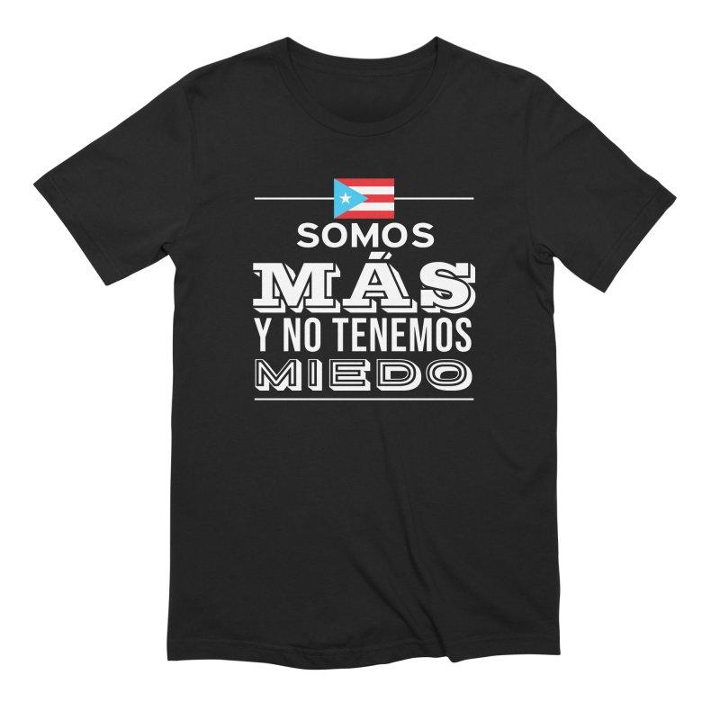 SOMOS MÁS Men's Extra Soft T-Shirt by La Tiendita Pepito