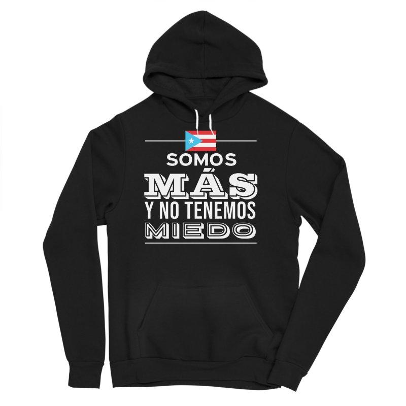 SOMOS MÁS Men's Sponge Fleece Pullover Hoody by La Tiendita Pepito