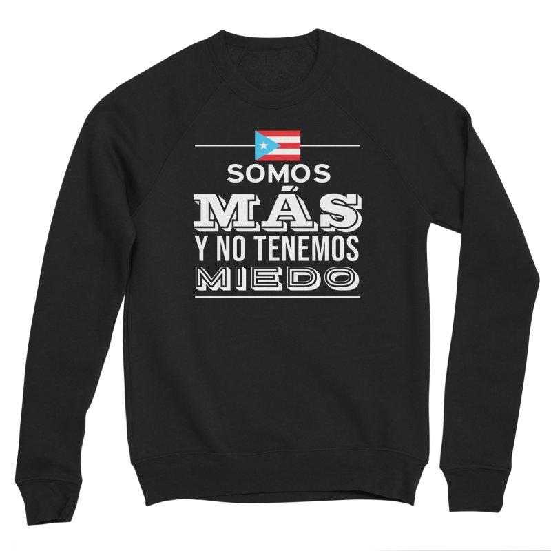 SOMOS MÁS Women's Sponge Fleece Sweatshirt by La Tiendita Pepito