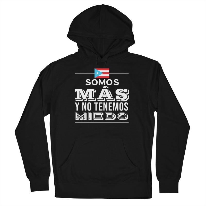 SOMOS MÁS Men's French Terry Pullover Hoody by La Tiendita Pepito